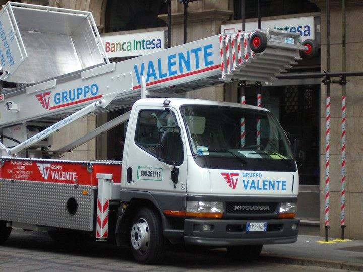 Noleggio attrezzature per traslochi Gruppo Valente